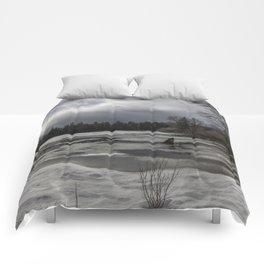 An Intricate Landscape Comforters