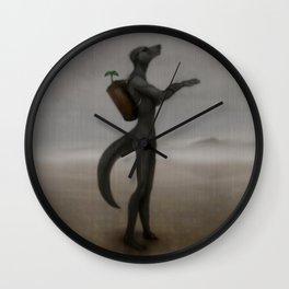 Petrichor Wall Clock