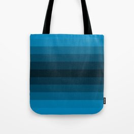 Blue Gradient Tote Bag