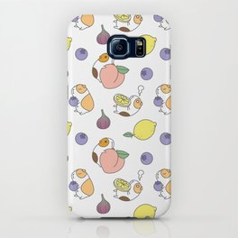 Guinea pig and fruits pattern iPhone Case
