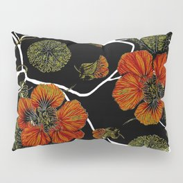 modern nasturtium Pillow Sham