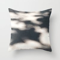 shadow Throw Pillows featuring Shadow  by Robert Morris