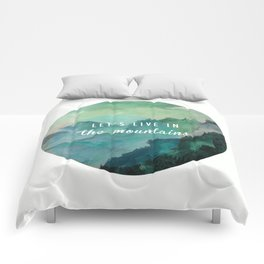 Mountain Living Comforters