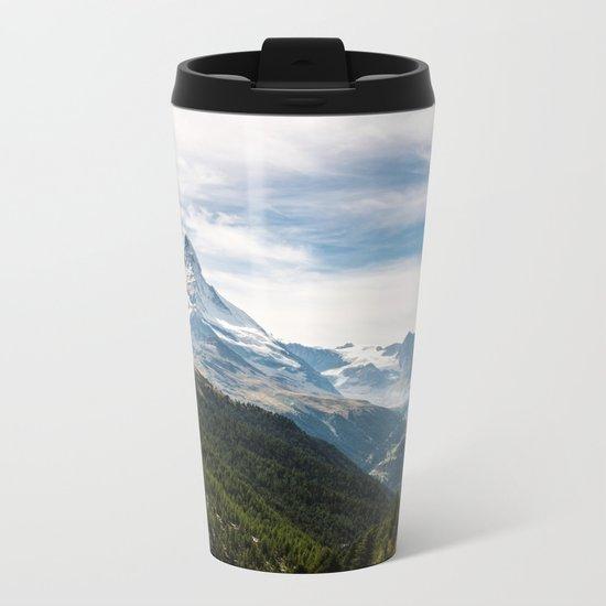 Explore earth Metal Travel Mug