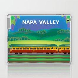 Napa Valley, California - Skyline Illustration by Loose Petals Laptop & iPad Skin