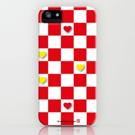 I'll waiting for you. iPhone Case