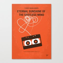 No384 My Eternal Sunshine of the Spotless Mind mmp Canvas Print