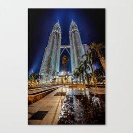 Petronas Twin Towers Canvas Print
