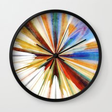 Colorful Splash Wall Clock