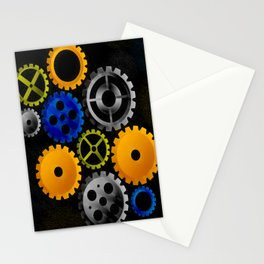 Gears 1 Stationery Cards