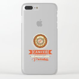 The Heart Of A Cancer Astrological Birth Sign Astrology  Clear iPhone Case
