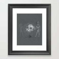 Ancient Guardians of Space and Time Framed Art Print