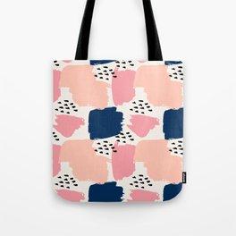 Abstract Pastels Tote Bag