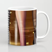 legs Mugs featuring Legs by Jamie Klock