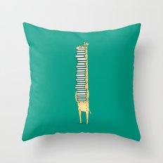 A book lover Throw Pillow