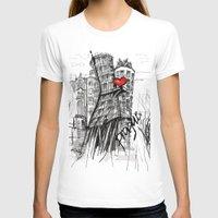 prague T-shirts featuring I love Prague  by sladja