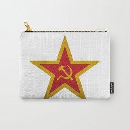 USSR Cold War Soviet Union Flag Communist Star Communism Russia Carry-All Pouch