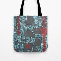 bali Tote Bags featuring Bali by The Happy Scientist