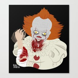 Pennywise (It) Canvas Print