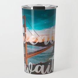 ADVENTURE AWAITS San Francisco Travel Mug