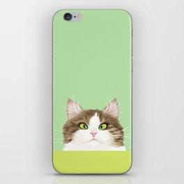 Cross-eyed Kitty iPhone Skin