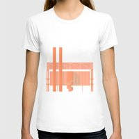 cigarette T-shirts featuring Cigarette Factory by Peter Cassidy