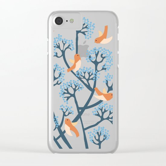 Birds Are singing Clear iPhone Case