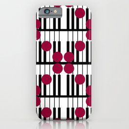 PIANO DOTS TTY N19 iPhone Case