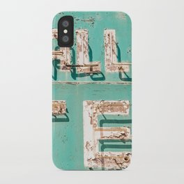 Valley Tel iPhone Case