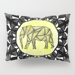 Ancient Elephant Pillow Sham