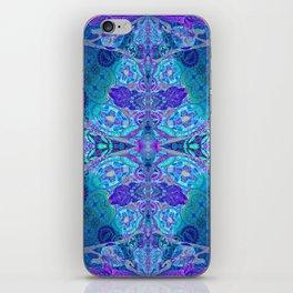 Inner Lantern Indigo Mandala iPhone Skin