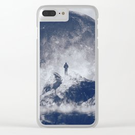 Too Close Clear iPhone Case