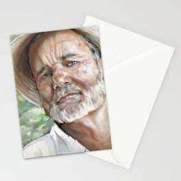 Portrait Painting Bill Stationery Cards