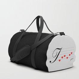 Music of love Duffle Bag