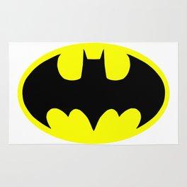 Bat man or Bat-man badge Rug