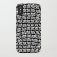 gray pattern iPhone & iPod Cases featuring Gray Pepples Pattern by Pia Schneider [atelier COLOUR-VISION]