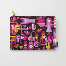 Club Music Festival Carry-All Pouch