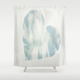 blue, Love Shower Curtain