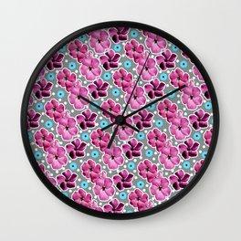 Pink Lullaby Wall Clock