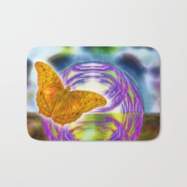 The wind beneath my wings Bath Mat