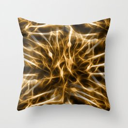Flammable Connections Throw Pillow