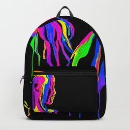 Painted girl Backpack