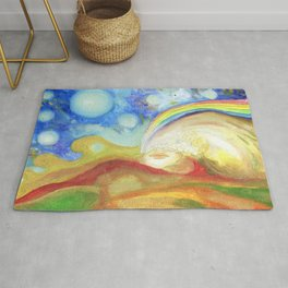 The Earth she is Alive Rug