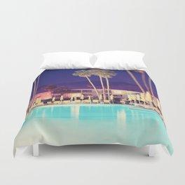 Palm Springs Hotel Duvet Cover