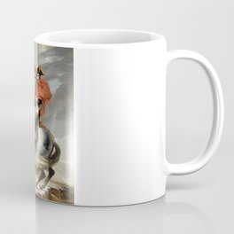 Napoleon Crossing the Alps Coffee Mug