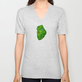 Landscape of My Heart (4 as 1) Unisex V-Neck