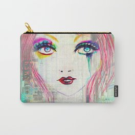 Colorful Gossip Carry-All Pouch