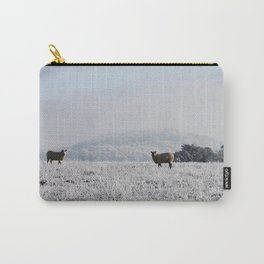 Winter Sheep Carry-All Pouch