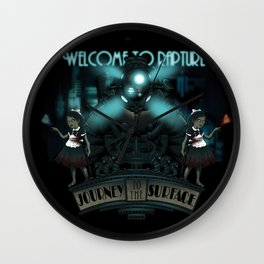 Welcome To Rapture Wall Clock