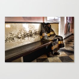 the persistence of loss Canvas Print